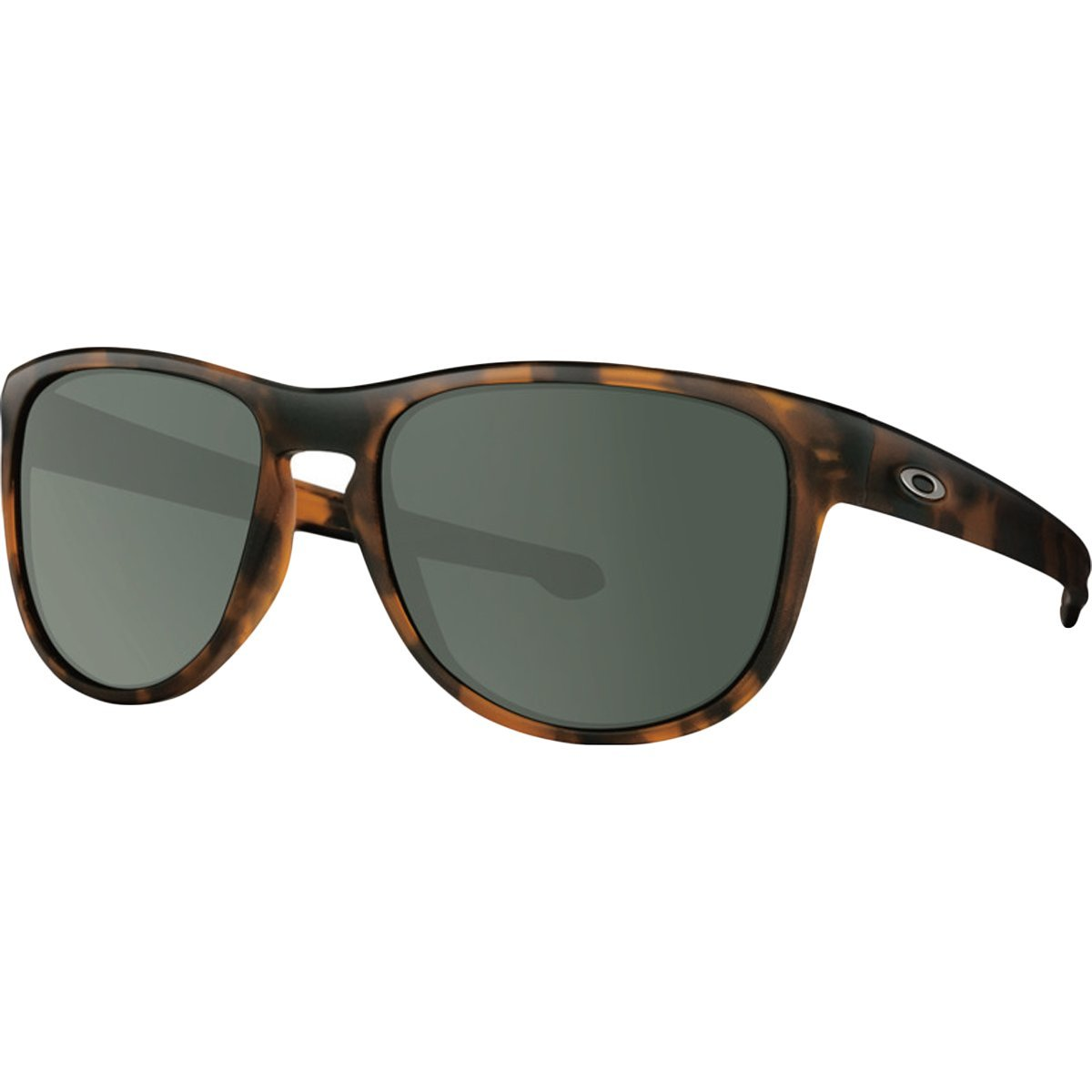 Oakley Mens Sliver R Sunglasses, Soft Coat Brown Tortoise/Dark Grey, One Size