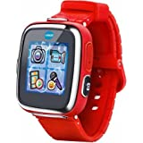 Splash-proof for everyday play and Voice recorder with voice-changing effects Kidizoom Smartwatch DX, Red