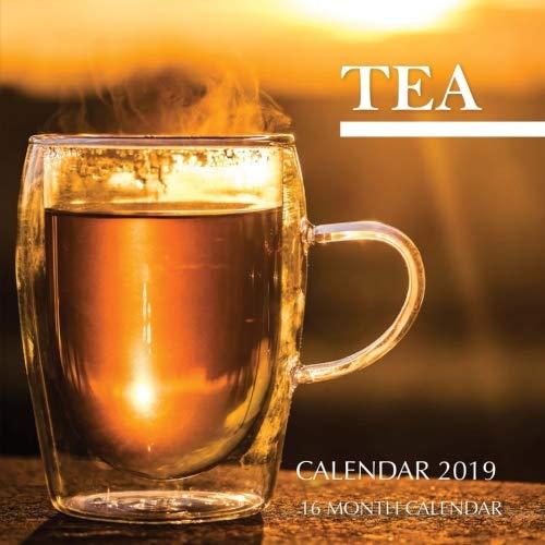 Tea Calendar 2019: 16 Month Calendar by Mason Landon