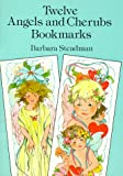 Twelve Angels and Cherubs Bookmarks, Barbara Steadman, 0486290980