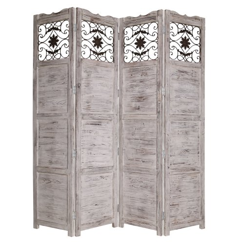 Screen Gems Nantucket Panel Screen, (Decorative Scroll Screen)