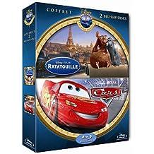 Ratatouille + Cars : Quatre roues - Coffret 2 Blu-Ray