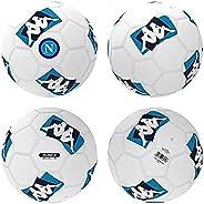 Italian Serie A SSC Napoli Mens Balls, White-Azure-Blue, 05