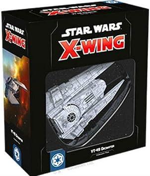Fantasy Flight Games Star Wars X-Wing: VT-49 Decimator Expansion Pack - English: Amazon.es: Juguetes y juegos