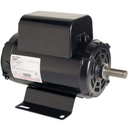 5 hp 3450 rpm r56y frame 208 230v air compressor motor century Single Phase Capacitor Motor Diagrams image unavailable