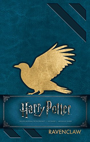 Harry Potter Ravenclaw Hardcover Ruled Journal [Insight Editions] (Tapa Dura)