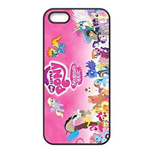 My Little Pony Pattern Design Solid Rubber Customized Cover Case for iPhone 4 4s 4s-linda603