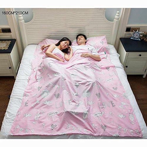 SDSLPB Home Hotel Portable Erwachsene Baumwolle Dirty Gesundheit Schlafsack