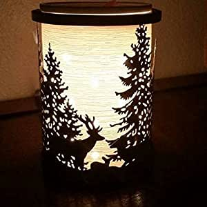 Amazon Com Scentsy Silhouette Collection Etched Core