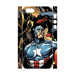 WJHSSB Cell phone Protection Cover 3D Case Avengers Marvel For Iphone 5,5S