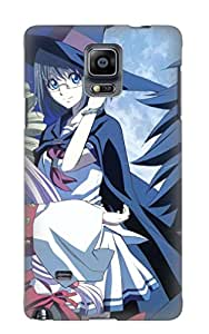 New Fashion Premium Tpu Case Cover For Galaxy Note 4 - Anime Rental Magica Case For New Year's Day's Gift
