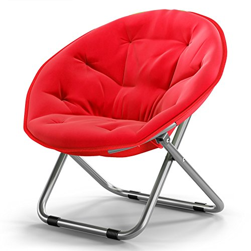 Amazon.com: Folding chair / adult moon chair / sun chair / lazy ...