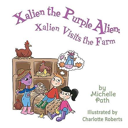 Xalien the Purple Alien