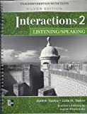img - for Interactions Level 2 Listening/Speaking Teacher's Edition book / textbook / text book