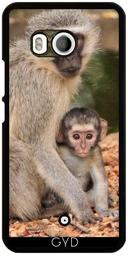 Funda para Htc U11 - Animales Mamíferos Mono Del Bebé by Grab My Art