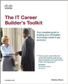 the it career builders toolkit print cd