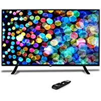 Pyle 50-Inch 1080p LED TV | Ultra HD TV | LED Hi Res Widescreen Monitor with HDMI Cable RCA Input | LED TV Monitor | Audio Streaming | Mac PC | Stereo Speakers | HD TV Wall Mount (PTVLED50)