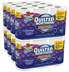 Quilted Northern Ultra Plush, Double Rolls, 96 Count [Item #92965]