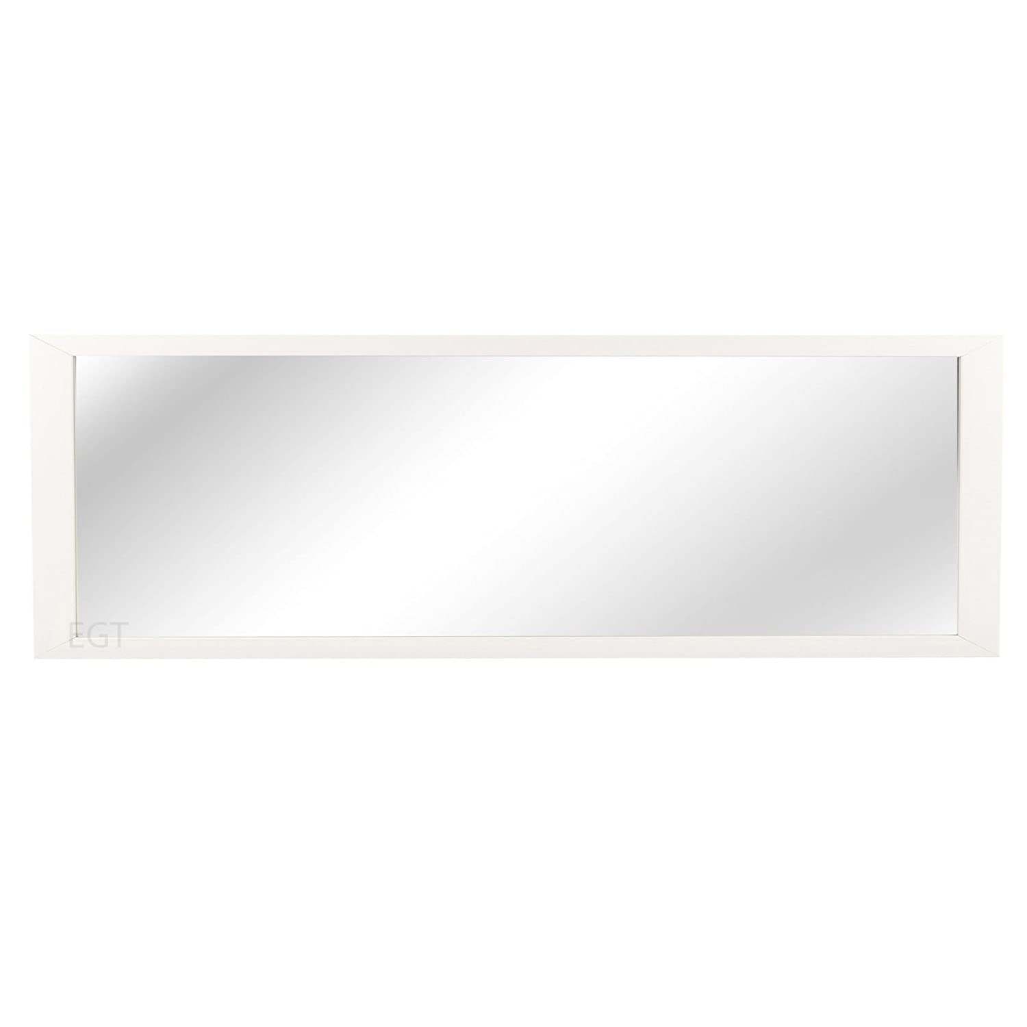 URBN Living White Long Full Length Floor Bedroom Furniture Hanging Wall Mirror EASYGIFT
