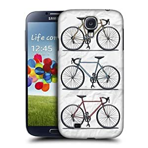 AIYAYA Samsung Case Designs Fast Retro Bikes Protective Snap-on Hard Back Case Cover for Samsung Galaxy S4 I9500