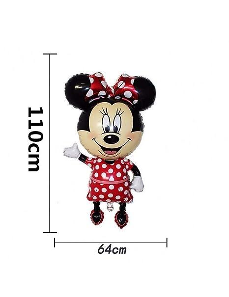 WSJQQ 1 Unid Grande 110 Cm Mickey Minnie Fiesta De ...