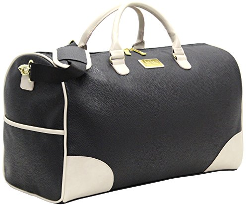 Nicole Miller Sharon City Duffel Bags (Black)