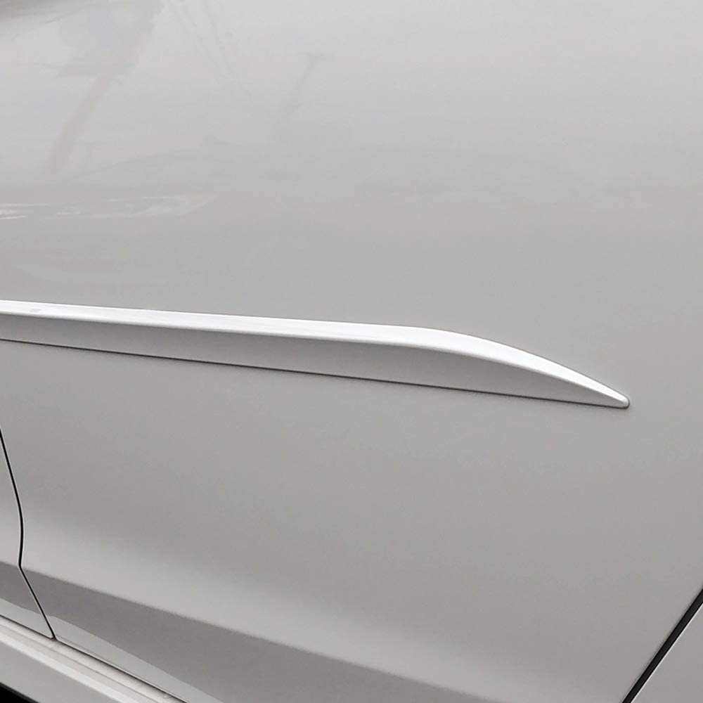 Dawn Enterprises FE7-MDX16 Custom Body Side Molding Compatible with Acura MDX Crystal Black Pearl NH-731P