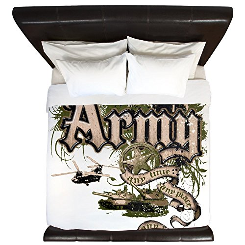 Cheap King Duvet Cover US Army Any Time Any Place Any Where for cheap
