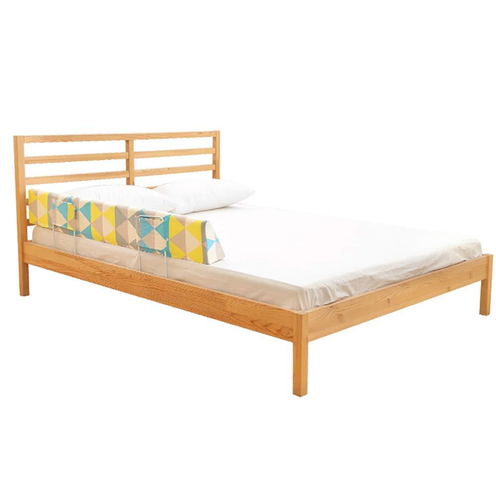 ベッドフェンス- ベビーベッドガード、多機能大きなベッドの手すりベッドサイドフェンス子供のアンチドロップバッフルコットン2メートルガードレール (色 : 青, サイズ さいず : 142cm) 142cm 青 B07JB9Y7GL