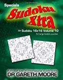 Sudoku 16x16 Volume 10, Gareth Moore, 1495414663