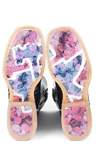 Multi Tin Western Boot Shoes Women's Entwined Haul rRnwqR0vYS