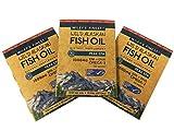 Wiley's Finest Fish Oil Peak Epa 1000mg Epa + DHA Omega-3 per Softgel Travel Size 3 Pack 10 Fish Softgels per Pack