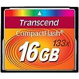Transcend 16GB CompactFlash Memory Card 133x (TS16GCF133)