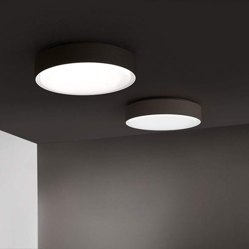 Eeayyygch 20W LED Deckenleuchten Eisenrahmen Plus Acryl Doppelkreislampe Deckenleuchte für Schlafzimmer, Wohnzimmer, Flur, Balkon und Abstellraum 450mm x 450mm (Farbe   -, Größe   -)