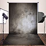 HUAYI 5x10ft Black Photography Backdrops Newborn Photo Studio Props Thick Cotton Background XT-3033