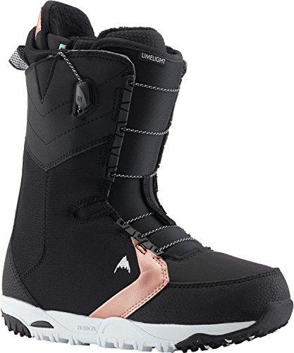Burton Limelight Snowboard Boots Black Womens Sz 8
