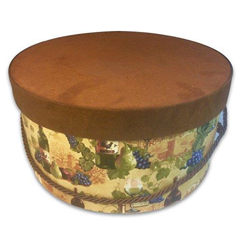 L'Artisane Box Hat or Gift Box (12 x 6 inch round)