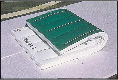 E-231 ノンスリップエコマット オール合成スポンジ 厚さ6cm 再生エステル白スポンジコンビ 90X180X6cm