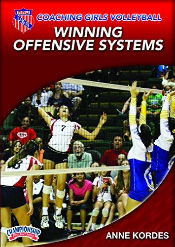 Anne Kordes: AAU Coaching Girls Volleyball Series: Winning Offensive Systems (DVD) - Volleyball Coaching Dvd