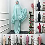 FIRERO Muslim Women Double-Layered Large-Scale