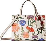 Kate Spade New York Women's Thompson Street Blossom Sam Tote Bag, Linen/Bleach Bone, One Size
