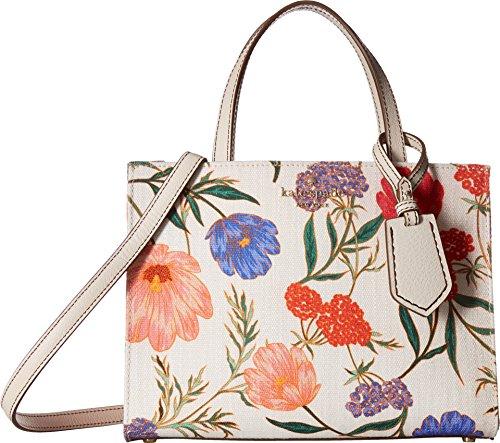 Kate Spade New York Women's Thompson Street Blossom Sam Tote Bag, Linen/Bleach Bone, One Size by Kate Spade New York