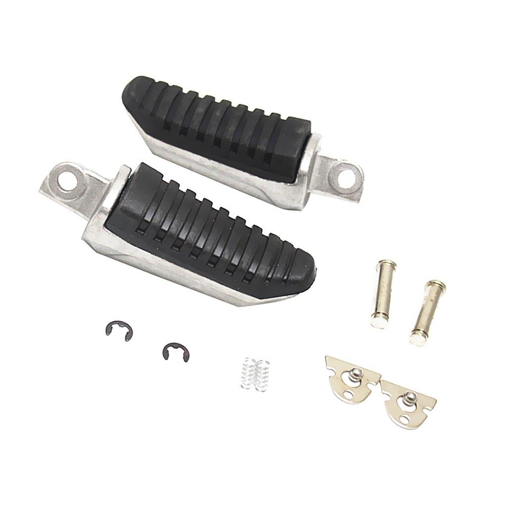 Sharplace Paire Repose Pied Avant//Arri/ère P/édale Support Pour Hayabusa GSX650 GSX1400 Motocyclette