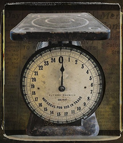 Great Art Now Nostalgica: Vintage Scale by Mindy Sommers Art Print, 22 x 26 inches Antique Scale