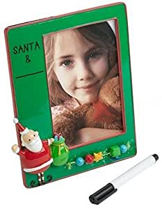 Skribbles Personalize Your Own - 4 X 6 Santa Picture Frame