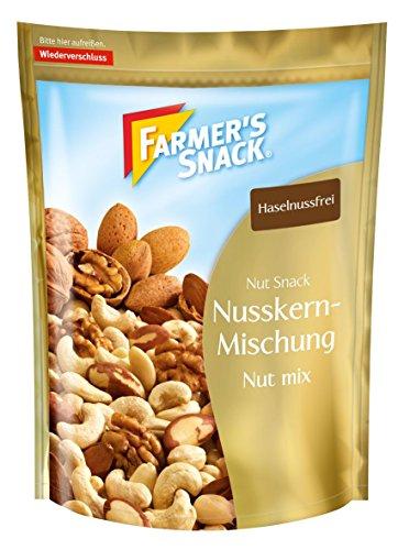 Farmer's Snack Nusskernmischung 4er Pack (4 x 200 g Beutel)