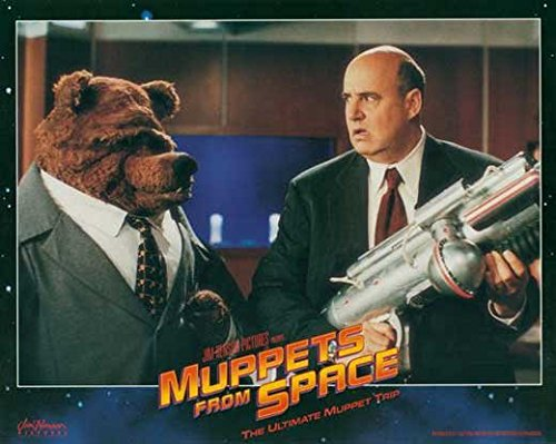 Muppets From Space POSTER Movie (1999) Style D 11 x 14 Inches - 28cm x 36cm (Jeffrey Tambor)(F. Murray Abraham)(David Arquette)(Ray Liotta)(Andie MacDowell)(Rob Schneider)(Josh Charles)