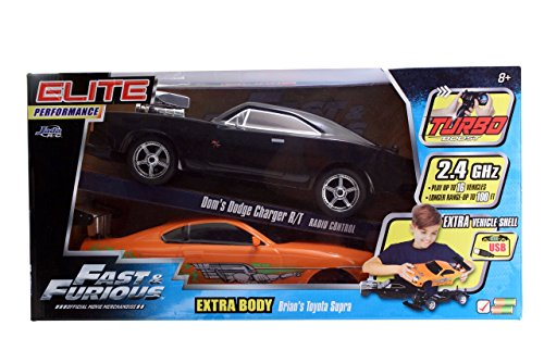 Jada Toys FF '70 Dodge Charger RT Elite Street RC Vehicle with Extra Shell price
