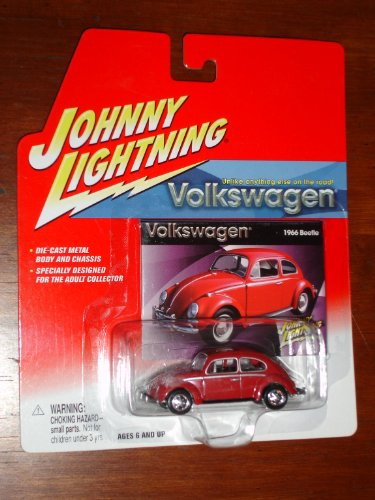 Johnny VW Red 1966 Beetle
