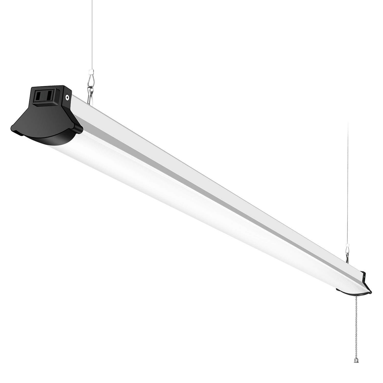 Faithsail 52w linkable led shop light 4ft 5600 lumens led garage
